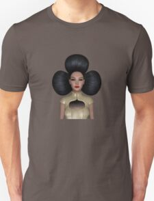 Queen of clubs portrait T-Shirt