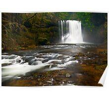 Upper North Falls, Silver Creek, Oregon Poster