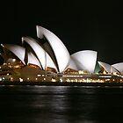 Opera House at Night by ScottyL