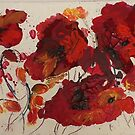 Red Poppies on Anzac Day by Shirlroma