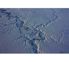 Canada, Ontario, an Aerial Winter Landscape. 2010 Photographic Print
