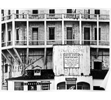Signs of Alcatraz Poster