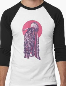 Native American Indian People Men's Baseball ¾ T-Shirt