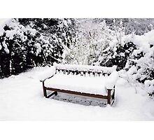 Hethersett Bench Photographic Print