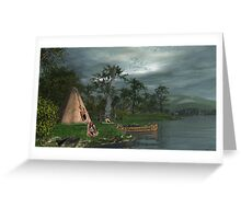 Hunting Lodge Greeting Card