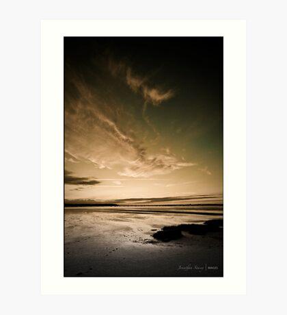 Autumn Tide Art Print