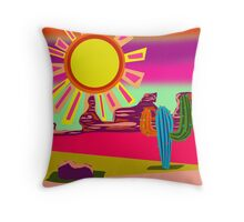 Desert scenes Throw Pillow