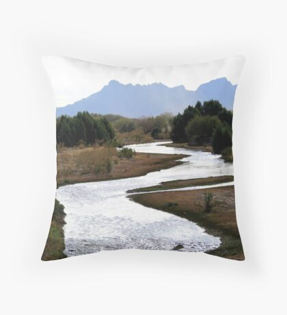 """Still Waters"" Throw Pillow"
