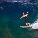 Surfer by Tina Blum