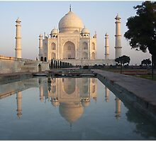 Sunrise at the Taj,Agra Photographic Print