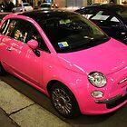 Milan. Pink 500 (cinquecento). Italy 2010 by Igor Pozdnyakov