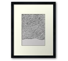 Ink Brush #1 Framed Print