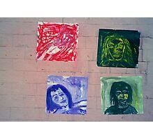 random street art gallery Photographic Print