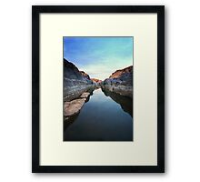 Canal View Framed Print