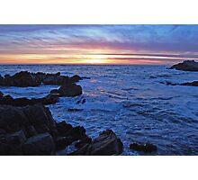 Monterey Sunset 2 Photographic Print