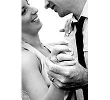 Heres to the Bride and Groom #3 Photographic Print