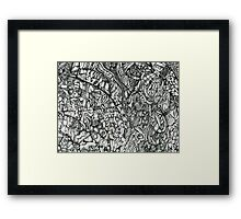 Within these lines Framed Print