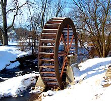 Mill Wheel by Lin Taylor