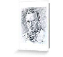 Giuseppe Migliori - L'ultima Lince Greeting Card