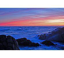 Monterey Sunset 3 Photographic Print