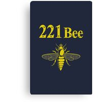 221Bee Canvas Print