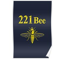 221Bee Poster