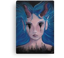 Ink Demon Canvas Print