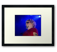 Red Rocker Framed Print