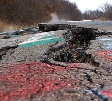 Centralia's Abandoned Highway by Mark Van Scyoc