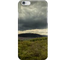 Dramatic Cwmafan Skies iPhone Case/Skin