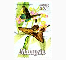 Malaysia Butterfly Print Unisex T-Shirt