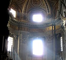 Vatican Light by Terra Berlinski