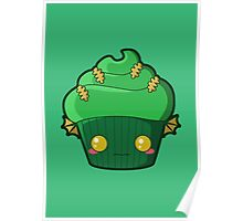 Spooky Cupcake - Swamp Thing Poster