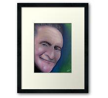 Man of Many Faces Framed Print
