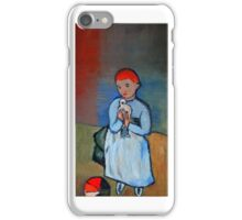 girl with dove after Picasso - iPhone Case iPhone Case/Skin