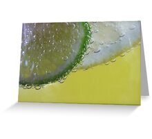 Lemon and Lime Twist Greeting Card