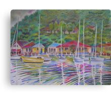 A View Over Koolewong Wharf From Koolewong Park, Australia Canvas Print