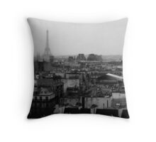 Paris, a view. Throw Pillow