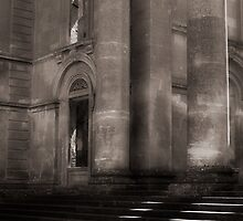 Entrance steps, Witley Court by justrelax