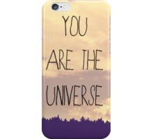 You Are The Universe iPhone Case/Skin