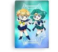 Sailor Uranus & Neptune Canvas Print