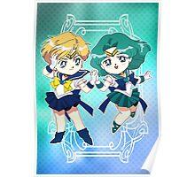 Sailor Uranus & Neptune Poster