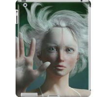 White Faun - mystery fairy iPad Case/Skin