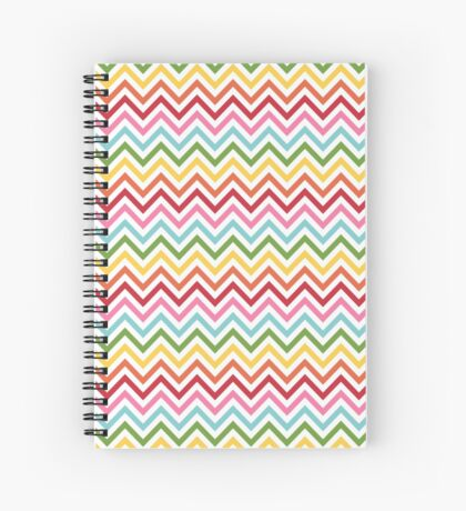 Rainbow Chevron #3 Spiral Notebook