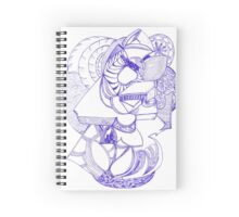 Spacious Unrealistic Doodle  Spiral Notebook