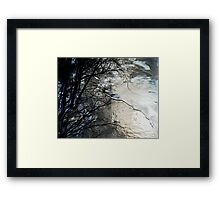 River With the Pebbled Bottom Framed Print