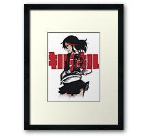 Ryuko-Kill la Kill Framed Print