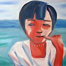 Portrait of a Vietnamese girl by Joozu