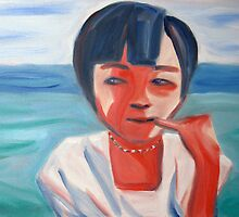 Portrait of a Vietnamese girl by Joozu
