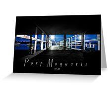 Jetty Port Macquarie Greeting Card